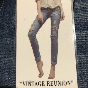 Vintage REWASH Distressed Skinny Jeans Size 3